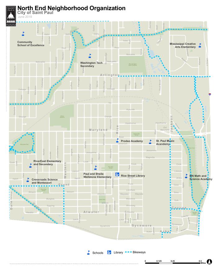 North End Neighborhood Organization Map_18X22