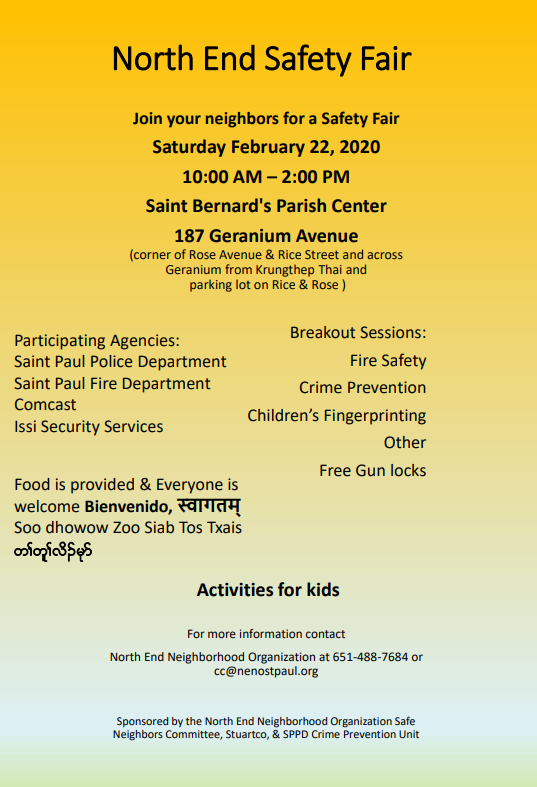 NE safety fair 2020
